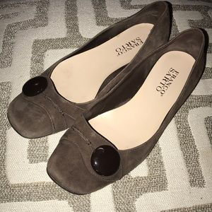 ❤️Franco Sarto Suede Flat Shoes